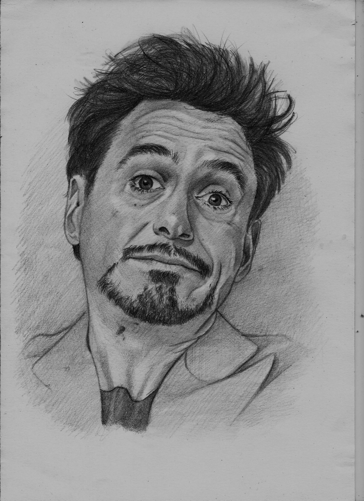 Robert Downey Jr by Exalion